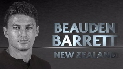 Beauden Barrett Named Best Player, All Blacks Sweep World Rugby Awards