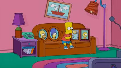 The latest intro for 'The Simpsons' is very morbid