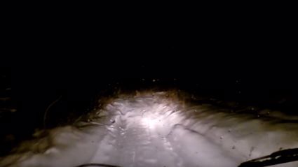 Video has emerged of a Yeti sighting in Russia