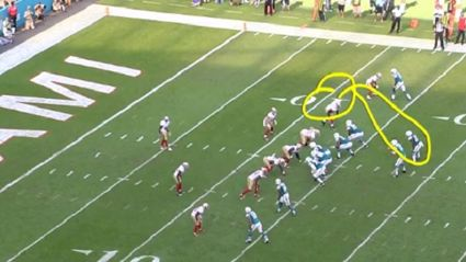 NFL commentator accidentally draws penis with telestrator