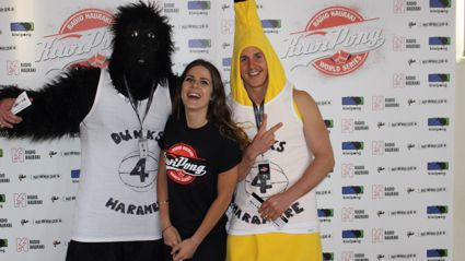 Photos from the Radio Hauraki Kiwipong World Series