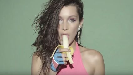 "Victoria's Secret model Bella Hadid has recreated the ""sexiest"" music video of all time"