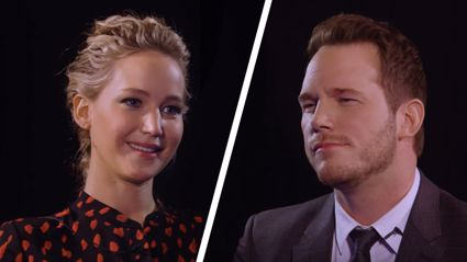 Watch Jennifer Lawrence & Chris Pratt brutally insult each other