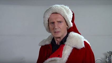 Liam Neeson is a Santa Claus with a particular set of skills