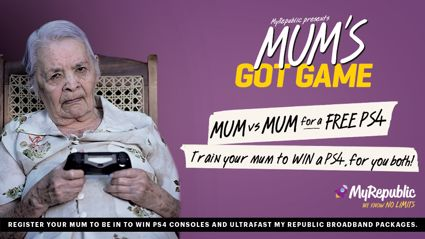 Mum's Got Game – Use your Mum to win a PS4 Pro and My Republic Broadband