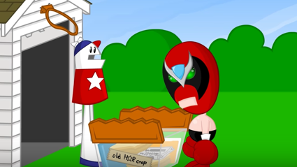 Watch a brand new Homestar Runner video