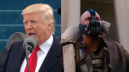 Donald Trump quoted Bane during his Inaugural Address...