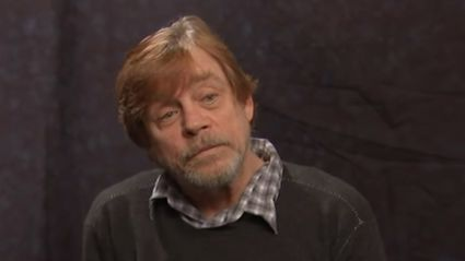 Watch Mark Hamill react to new Star Wars title