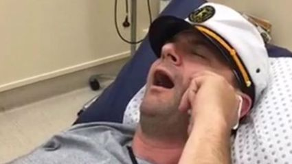 ACC live on air vasectomy during commentary goes viral worldwide