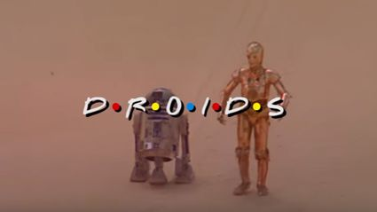 Please enjoy this Star Wars Droids 'Friends' intro mash up