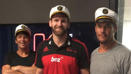 Matt & Jerry interview All Blacks Captain Kieran Read