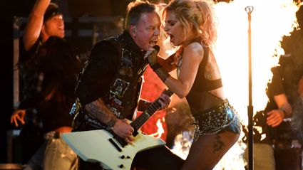 This is what Metallica and Lady Gaga's Grammy performance was meant to sound like