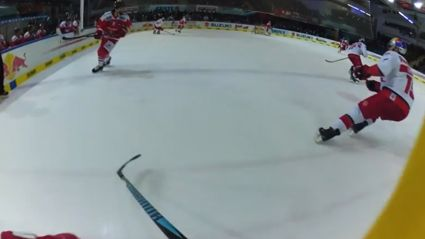 Ever wanted to play ice hockey? Watch this!