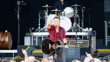 Photos of Bruce Springsteen live in Auckland