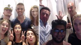 We found the photobooth pics from an Intimate Evening in CHCH