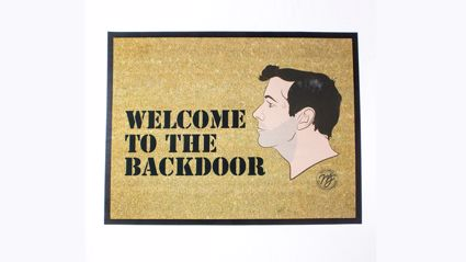 Presenting… The Matt & Jerry Backdoor Welcome Mat