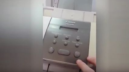 "Watch this guy play Darude ""Sandstorm"" on a printer"