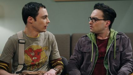 Big Bang Theory with a Ricky Gervais laugh track makes it actually funny