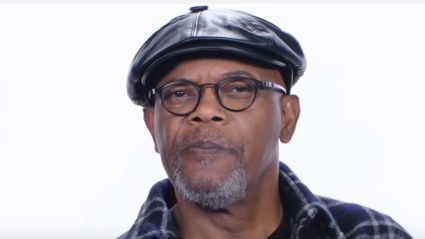 Watch Samuel L. Jackson answering the internet's most searched questions about him