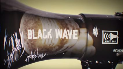 "Listen to the new song ""Black Wave"" by K. Flay"