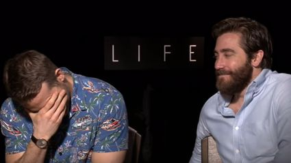 Ryan Reynolds & Jake Gyllenhaal's NSFW is the best movie interview in ages