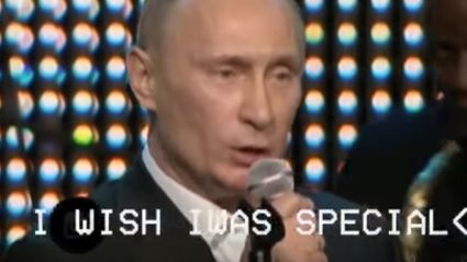 "Watch President Putin covering Radiohead's ""Creep"""