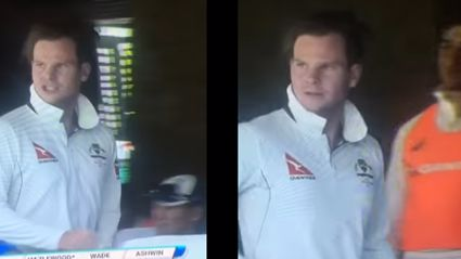 "Steve Smith caught calling Murali Vijay a ""F*ckin' cheat!"""