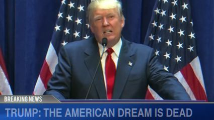Watch Donald Trump's speeches as an early 2000s Emo song