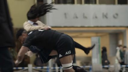 Watch the All Blacks smash a bunch of unlucky Japanese people