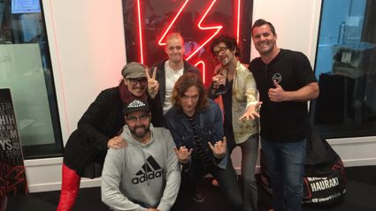 Jay Reeve & Scotty J Stevenson interview The Darkness