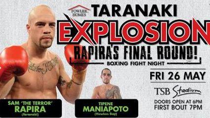 TARANAKI: Rapira's Final Round