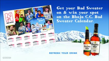 "Download the Bhuja CC ""Bad Sweater"" calendar"