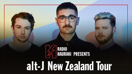 Radio Hauraki presents alt-J live in NZ