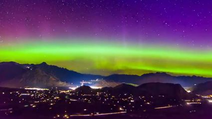 This Aurora Australis over Queenstown video will BLOW your mind!