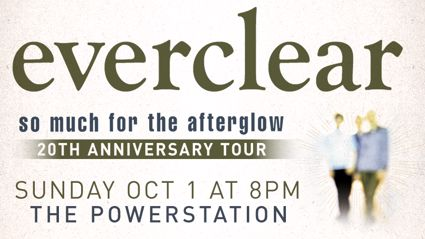 Everclear 'So Much For The Afterglow' Tour