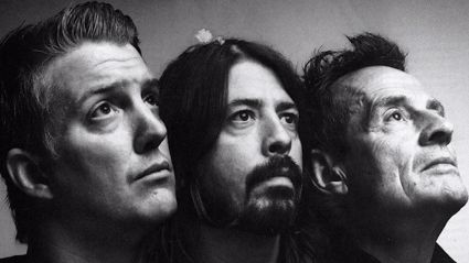 Dave Grohl hints at Them Crooked Vultures reunion