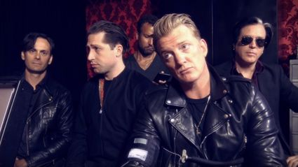 Queens Of The Stone Age announce new album & preview new song in hilarious video