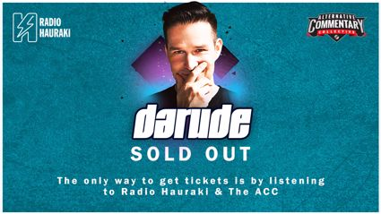Win tickets to see Darude in Christchurch