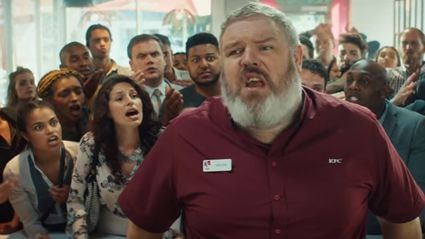 "KFC create brilliant ad featuring ""Hodor"" from 'Game Of Thrones'"