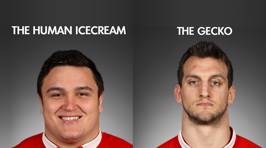 The ACC's official Lions team nicknames for the 3rd Test