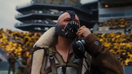 Watch Bane's stadium speech cut to Conor McGregor quotes