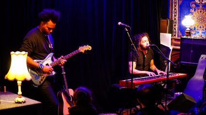 Photos of Gang Of Youths live acoustic performance in Auckland