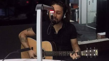 Dave from Gang Of Youths performs live on Bhuja