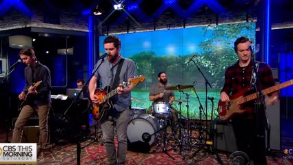Watch Manchester Orchestra play three new songs live