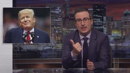 John Oliver destroys Donald Trump on his response to Charlottesville