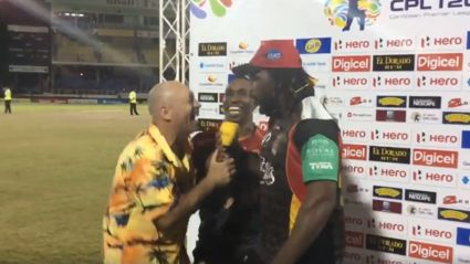 Danny Morrison went full Danny Morrison at the CPL today