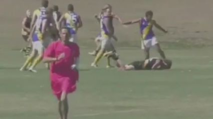 AFL player banned 20 years for brutal kick to the head