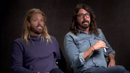 Matt & Jerry interview Dave & Taylor from the Foo Fighters