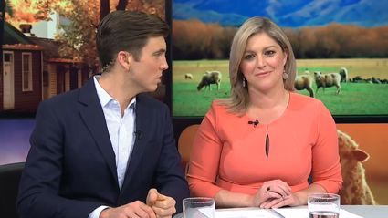 Jack Tame asks Toni Street if she swallows... Wait, what?