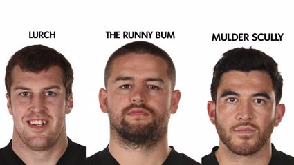 The ACC's official All Blacks team nicknames vs Argentina